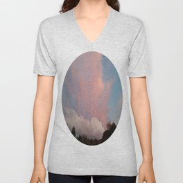 Dance of Two Clouds Unisex V-Neck