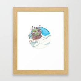Howl's moving castle Framed Art Print