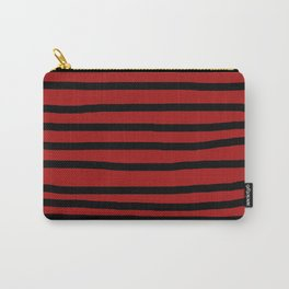 Xcersyst - Red Striped Shirt Carry-All Pouch