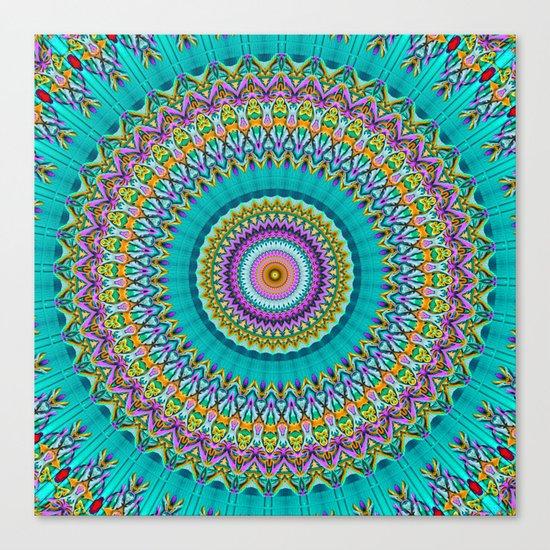 dreaming mandala Canvas Print