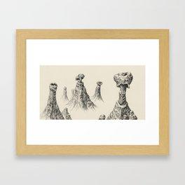 Aquasipho Tripodia Landscape Series Framed Art Print
