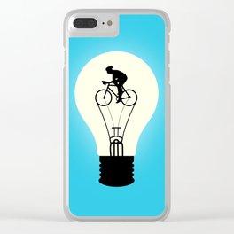 Idea Power Clear iPhone Case