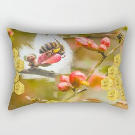 Oh, honey honey bee Rectangular Pillow