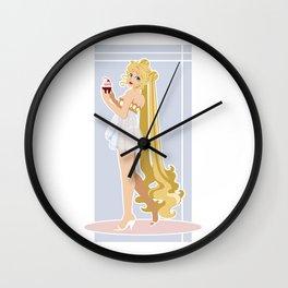 Sailor Moon Pinup - Usagi Cupcake Wall Clock