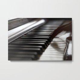 Musician play piano Metal Print