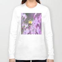 bee Long Sleeve T-shirts featuring Bee by Dora Birgis