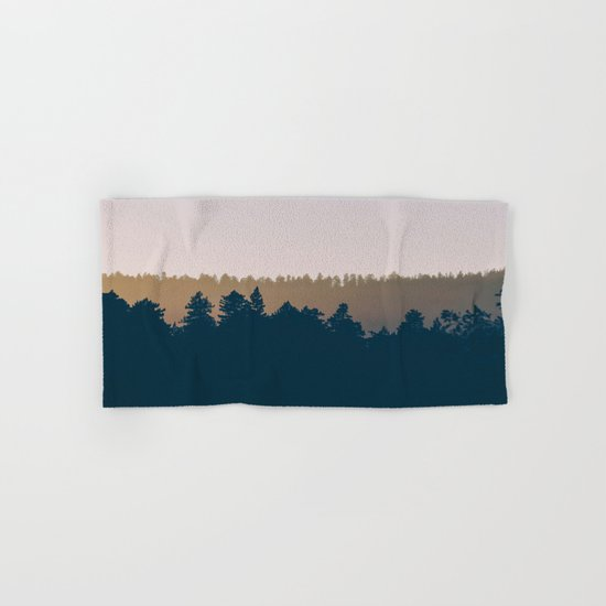 Woods Abstract Hand & Bath Towel