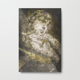 Angel In Bronze And Copper Metal Print