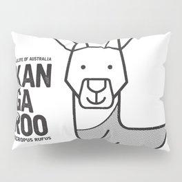 Kangaroo, Wildlife of Australia Pillow Sham
