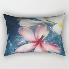 Frangipani  Rectangular Pillow