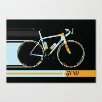 bike Canvas Prints featuring Bike by Wyatt Design