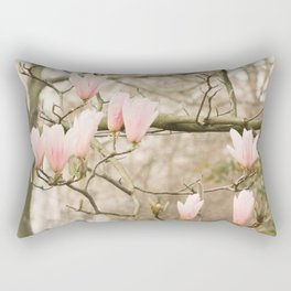 Magnolia Candelabra Rectangular Pillow