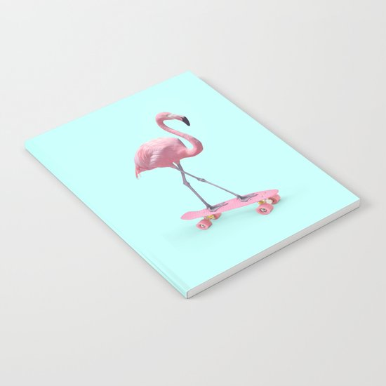 SKATE FLAMINGO Notebook