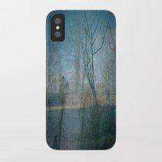 backyard iPhone X Slim Case