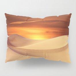 The Sunset On Desert Pillow Sham