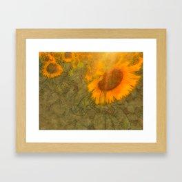 dreamy summer Framed Art Print
