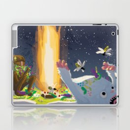Eternal Birthday Unexpected Guests Laptop & iPad Skin