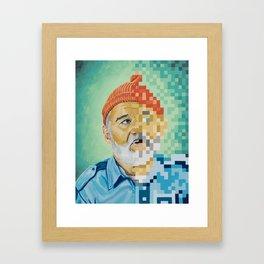 Tribute to Zissou Framed Art Print