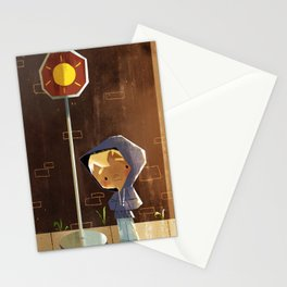 On The Sunny Side Of The Street Stationery Cards