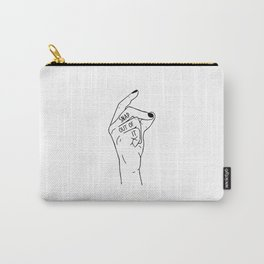 Snap out of it - On White Carry-All Pouch
