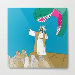 Jesus, Etc. Metal Print
