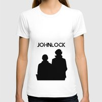 johnlock T-shirts featuring Johnlock by lori