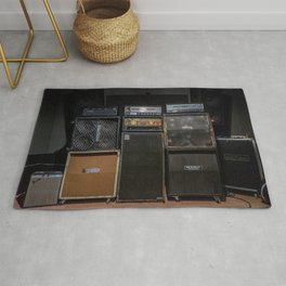 Heavy Metal Amp Stack Rug