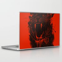 king Laptop & iPad Skins featuring The King by nicebleed