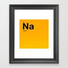 Sodium Framed Art Print
