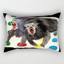 Werewolves with a Twist Rectangular Pillow