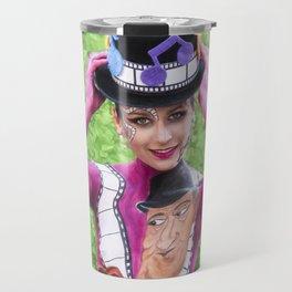 Body Painting Travel Mug