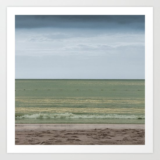 Seascape No. 1 Art Print