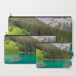 Boats on Emerald Lake Carry-All Pouch