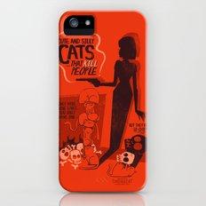 Cat Movie - orange iPhone (5, 5s) Slim Case