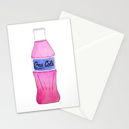 Pink Coke Stationery Cards