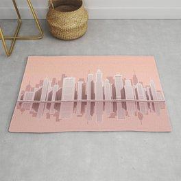 Pink City Manhattan Rug