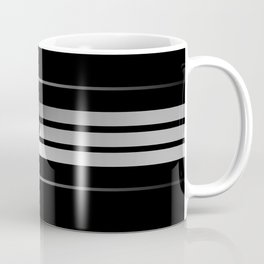 Team Colors...Black,gray Coffee Mug