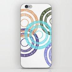 Bianca Circle iPhone & iPod Skin