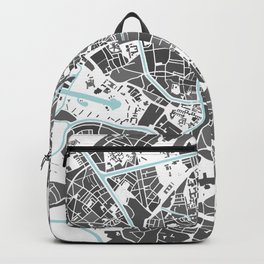 Ghent City Map I Backpack