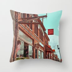 South Tacoma architecture Throw Pillow