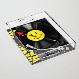 """""""Bloody Turntable"""" Watchmen fan art Acrylic Tray"""