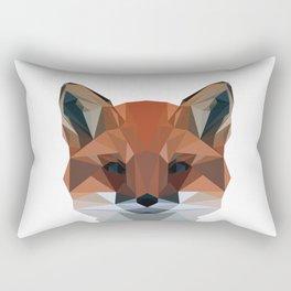 Red Autumn Fox  Rectangular Pillow