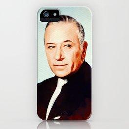 George Raft, Vintage Actor iPhone Case