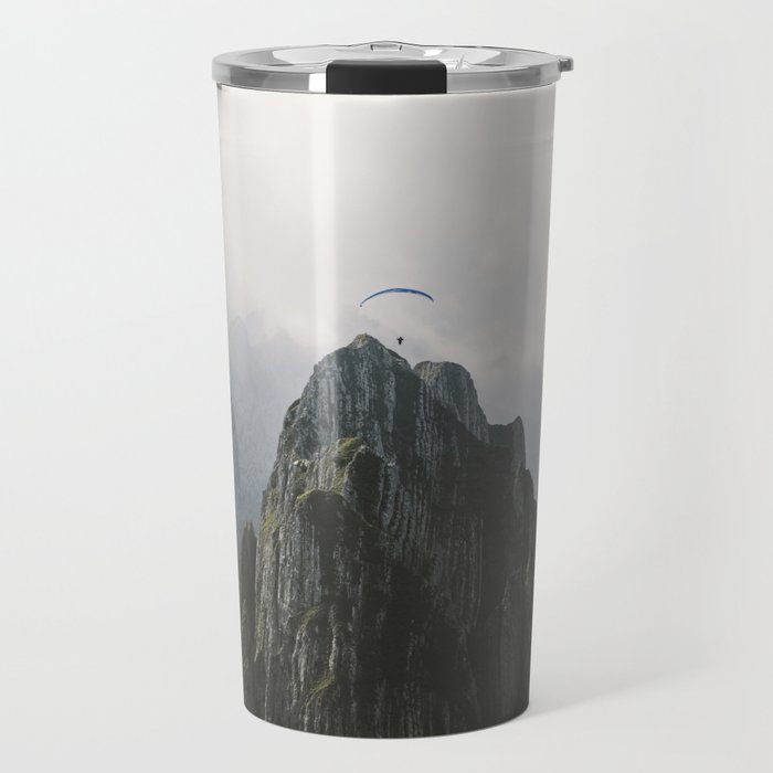 Flying Mountain Explorer - Landscape Photography Travel Mug