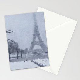 En hiver II Stationery Cards