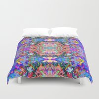 trippy Duvet Covers featuring TRIPPY by IZZA