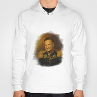 robin williams Hoodies featuring Robin Williams - replaceface by replaceface