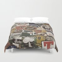 coasters Duvet Covers featuring Beer by Nicklas Gustafsson