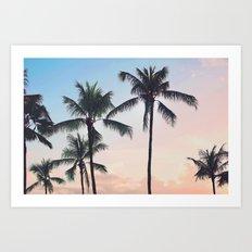 Paradise Cove Sunset Art Print