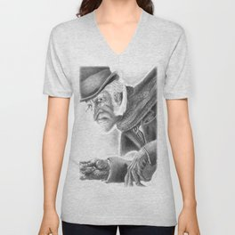 Mr. Scrooge Unisex V-Neck